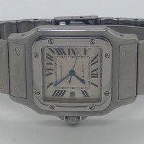 Cartier Santos Galbée Steel 29mm Silver Roman numerals