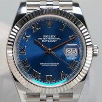 Rolex Datejust Staal 41mm Blauw Geen cijfers Nederland, Maastricht