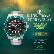 Seiko Prospex SNE451P1 New Steel 43mm Automatic