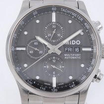 Mido Steel 44mm Automatic Multifort pre-owned