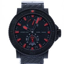 Ulysse Nardin Diver Black Sea Steel 45.7mm Black United States of America, Georgia, Atlanta