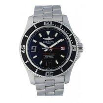 Breitling Superocean 44 Сталь 46mm Чёрный