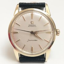 Omega Seamaster Goud/Staal 34mm Wit