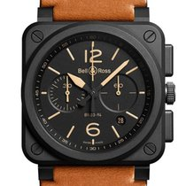 Bell & Ross BR 03-94 Chronographe BR0394-HERI-CE New Ceramic 42mm Automatic