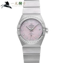 Omega Constellation Ladies new Automatic Watch with original box and original papers 123.15.27.20.57.002