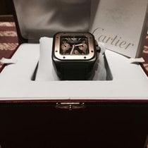Cartier Tytan Automatyczny Rzymskie nowość Santos 100