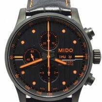 Mido Multifort Chronograph M005.614.36.051.22 Mido Multifort Gent Cronografo Nero 2020 новые
