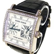 Roger Dubuis - King Square GMT witgoud, limited edition 04/28