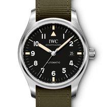 IWC Pilot IW327007 Automatic Black Dial B&P New