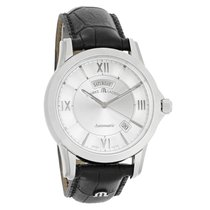 Maurice Lacroix Pontos Mens Automatic Stainless Steel PT6058-S...