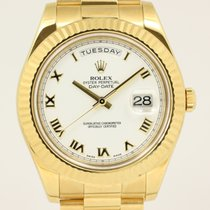 Rolex Day-Date II / President II from 2010 complete with B + P