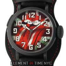 Zenith Pilot Type 20 GMT Titanium 48mm Red United States of America, New York, New York