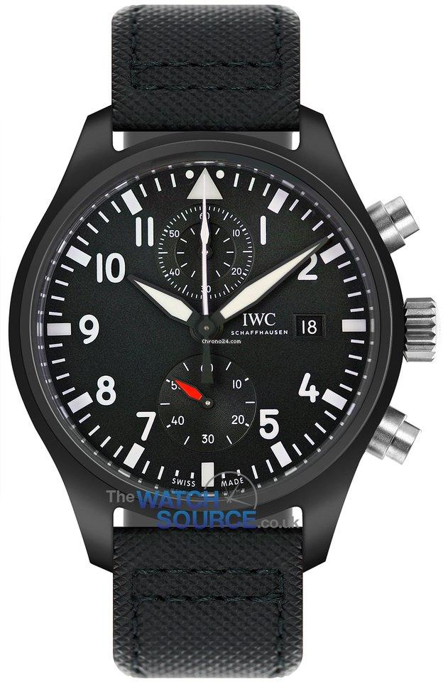 2f792e89a348 Precio de relojes IWC Pilot Chronograph Top Gun en Chrono24