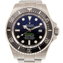 勞力士 Deepsea Sea-dweller Stainless Steel Black Automatic 126660BL