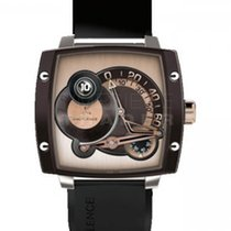 Hautlence new Manual winding Power Reserve Display Limited Edition PVD/DLC coating 45mm Titanium Sapphire Glass