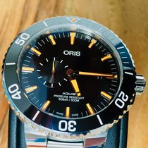 Oris Aquis Small Second, and date
