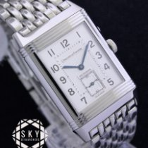 Jaeger-LeCoultre Reverso Duoface Steel 26mm Silver Arabic numerals United States of America, New York, NEW YORK