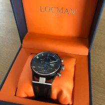 Locman Titanium 44mm Quartz 0510KNBKFBL0GOK new