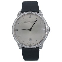 Harry Winston Midnight White gold 39.3mm Silver United States of America, New York, New York
