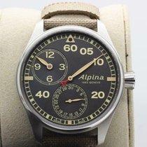 Alpina Startimer Pilot Manufacture Stal 44mm Czarny