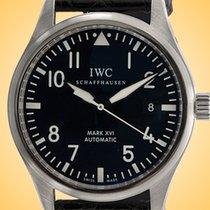 IWC Pilot Mark Steel 39mm Black Arabic numerals United States of America, Illinois, Northfield