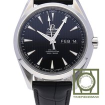 Omega Seamaster Aqua Terra Steel 43mm Black
