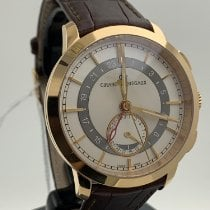 Girard Perregaux Red gold Automatic White Arabic numerals 41mm pre-owned 1966