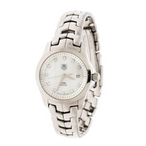 TAG Heuer Steel Quartz Tag Heuer White Mother of Pearl Stainless Steel Link WAF1317 pre-owned UAE, DUBAI