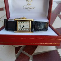 Cartier Tank Vermeil 01362557051 1991 occasion
