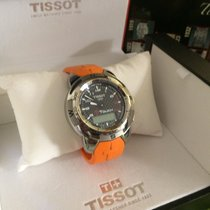 Tissot T-Touch Expert Titanium 41mm Black Roman numerals