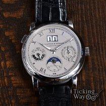 A. Lange & Söhne Langematik Perpetual Platinum 38.5mm Silver Roman numerals United States of America, California, Irvine