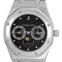 "Audemars Piguet Gent's 18K White Gold  ""Royal Oak Moonphase""..."
