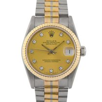 Rolex Datejust Aur alb 31mm Bronz
