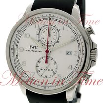 IWC Portuguese Yacht Club Chronograph Steel 45.4mm Silver Arabic numerals United States of America, New York, New York
