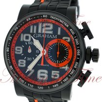 "Graham Silverstone Stowe ""Orange"", Black Carbon Dial, Limited..."