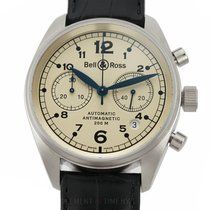 Bell & Ross Vintage White gold 39mm Champagne Arabic numerals United States of America, New York, New York