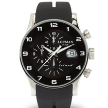 Locman Island 062000KW-BKW2SIK Chronograph Quarz Men's Watch