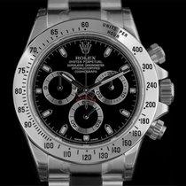 Rolex S/S Unworn Black Dial Cosmograph Daytona B&P 116520