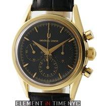 Universal Genève Compax Chronograph 36mm Black Dial Circa...
