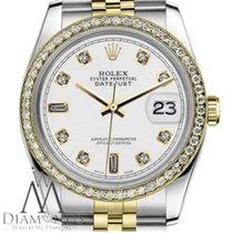Rolex Lady-Datejust Oro/Acciaio 31mm Bianco Senza numeri