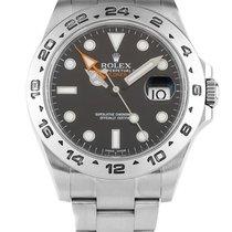 Rolex Oyster Perpetual Explorer II 42mm Black dial