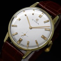 Cyma Synchron 60s Vintage Mechanical Goldplated NOS New Old Stock