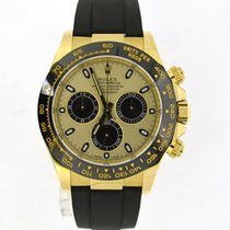 Rolex Daytona yellow gold Oysterflex 116518LN