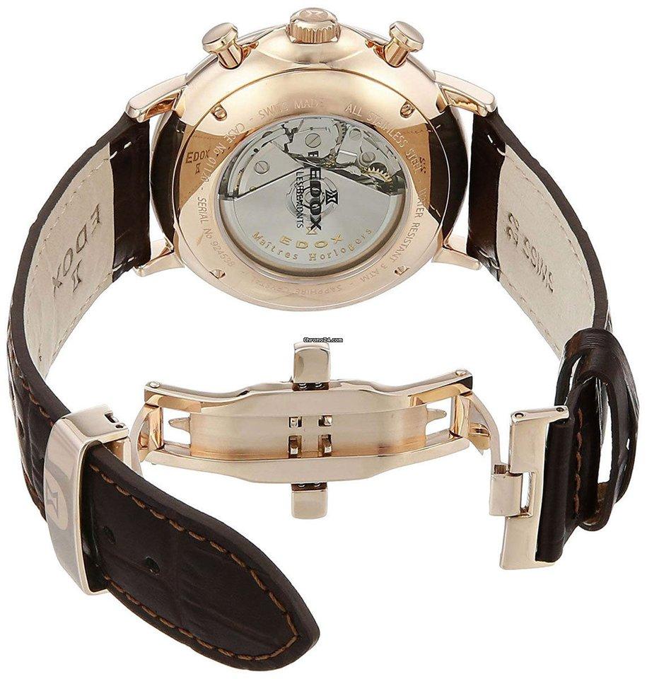 Edox Les Bemonts Chronograph Automatic Stainless Steel Men s... za Kč 21  737 k prodeji od Trusted Seller na Chrono24 528566d099b
