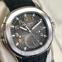 Patek Philippe Aquanaut Steel 40.8mm Black Arabic numerals United Kingdom, London