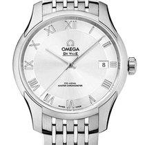 Omega De Ville Hour Vision Steel 41mm Silver Roman numerals