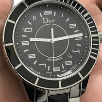 Dior 42mm Automatic pre-owned Christal Black
