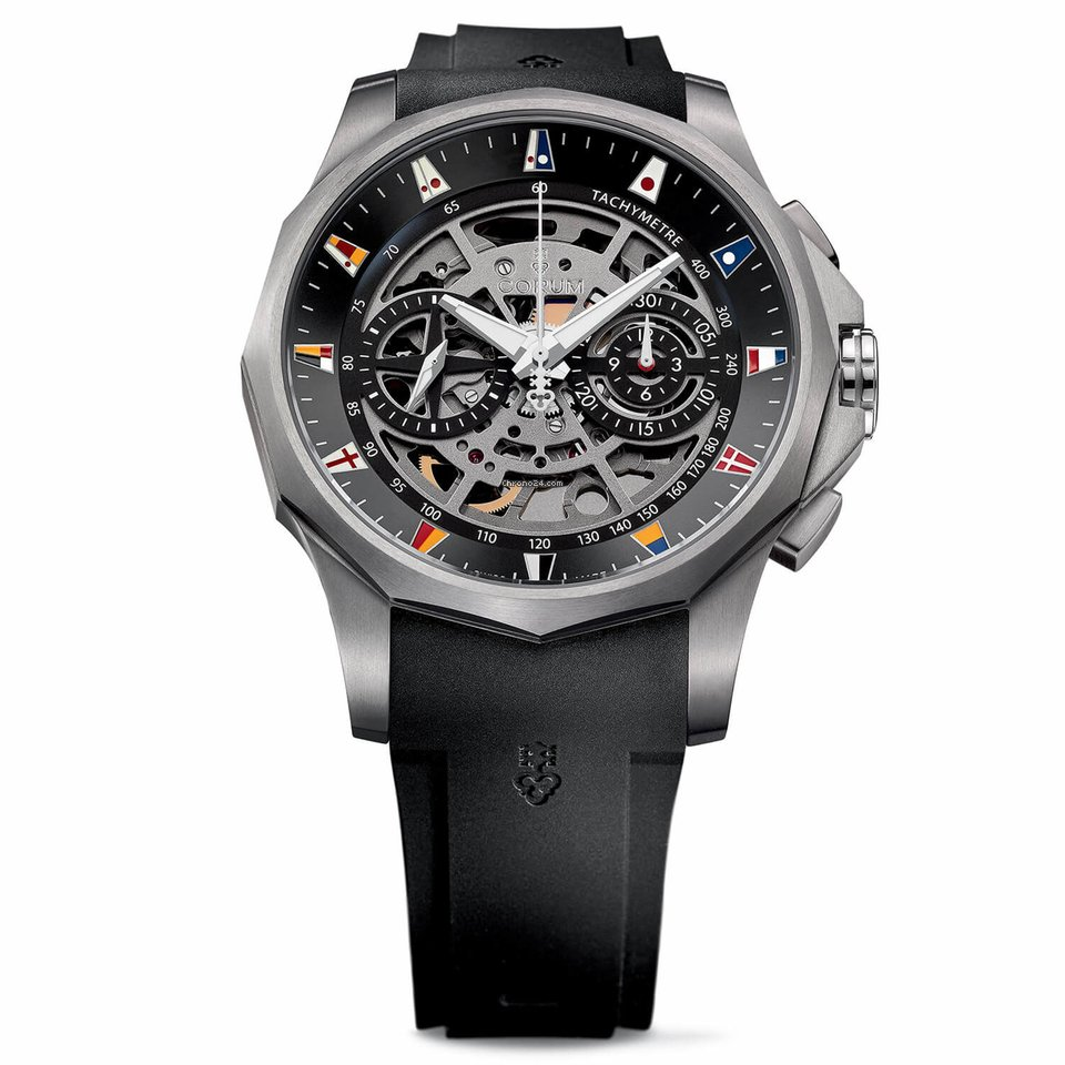 7cf29c95e11 Corum ADMIRAL LEGEND 47 CHRONOGRAPH SQUELETTE por 5.752 € para vender por  um Trusted Seller na Chrono24
