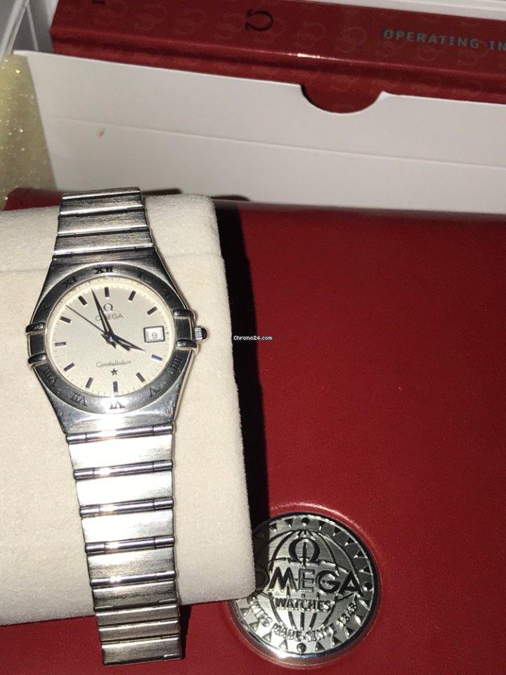 Omega Ladies Constellation Steel Date za Kč 19 553 k prodeji od Soukromý  prodejce na Chrono24 6809429d38f