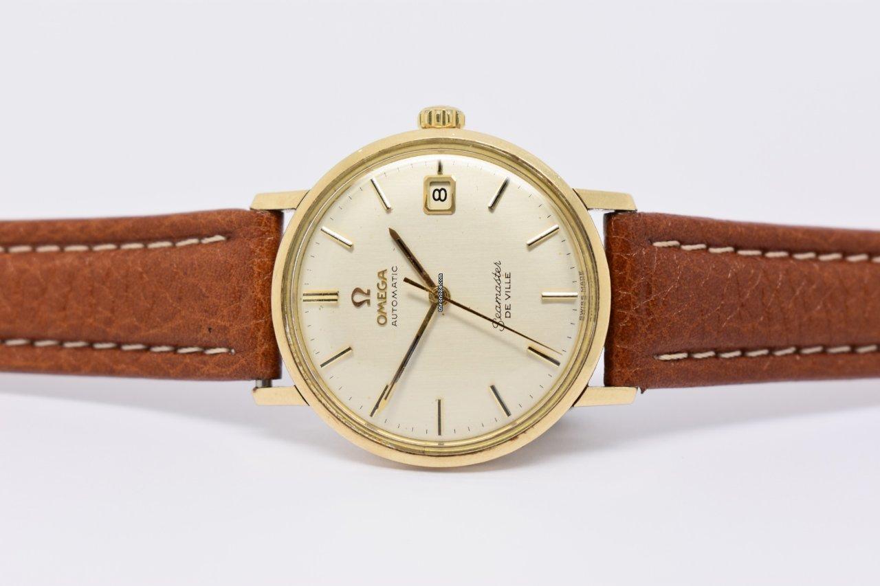 fafb2343e49 Omega Seamaster DeVille Ouro amarelo - Todos os preços de relógios Omega  Seamaster DeVille Ouro amarelo na Chrono24